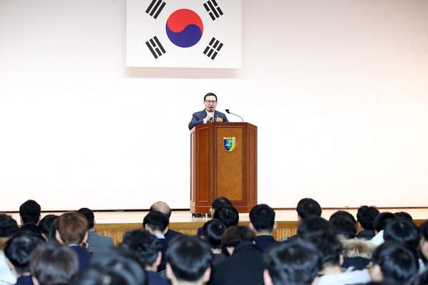 제24회 부평공업고등학교 졸업식