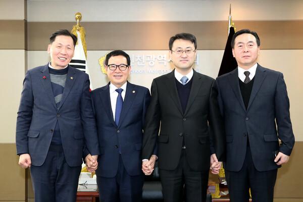 김도형 남동경찰서장 접견