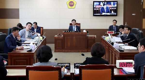 제254회 인천광역시의회 임시회 제2차 교육위원회 대표 이미지