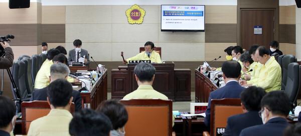 제261회 인천광역시의회 임시회 제1차 의회운영위원회
