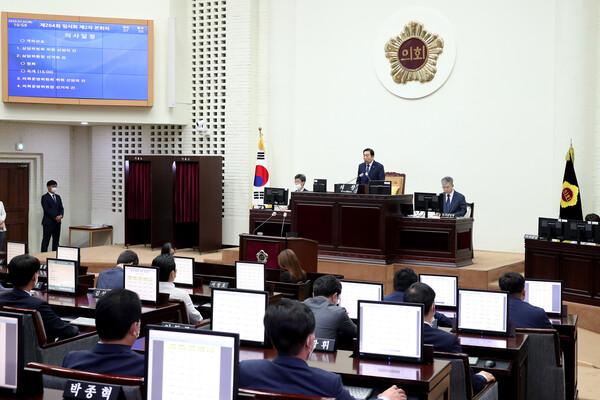 제264회 인천광역시의회 임시회 제2차 본회의 대표 이미지