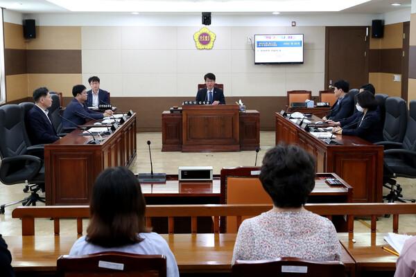 제264회 인천광역시의회 임시회 제1차 문화복지위원회