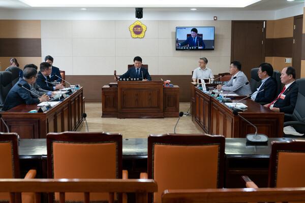 제264회 인천광역시의회 임시회 제1차 산업경제위원회