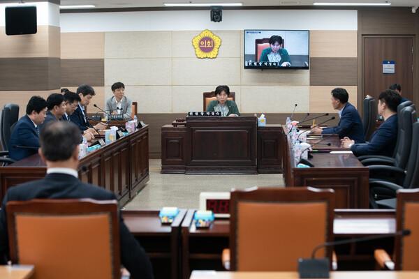 제264회 인천광역시의회 임시회 제1차 윤리특별위원회 대표 이미지