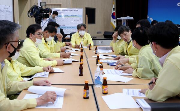 기획행정위원회 코로나19 인천광역시재난안전대책본부 방문