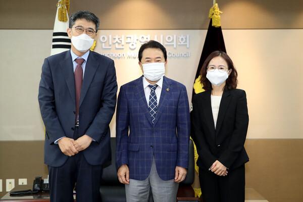 서명국 한국은행 인천본부장 접견 대표 이미지