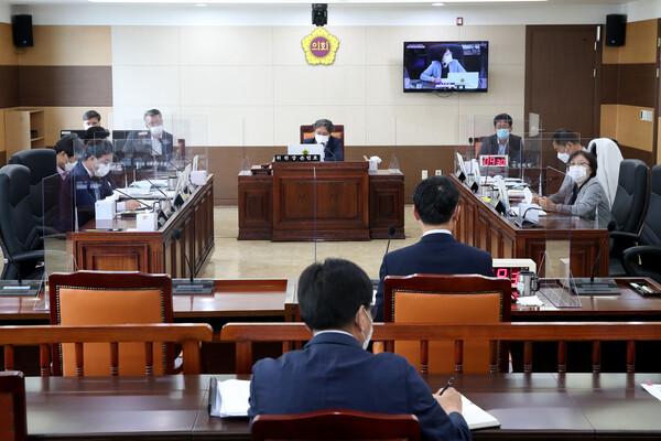 제265회 인천광역시의회 임시회 제1차 기획행정위원회 대표 이미지