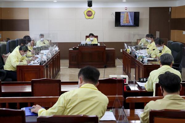 제265회 인천광역시의회 임시회 제1차 건설교통위원회