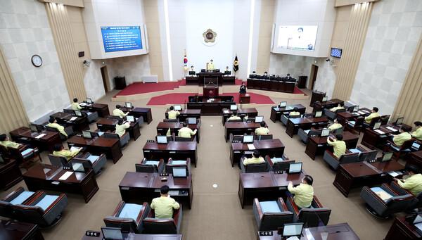 제265회 인천광역시의회 임시회 제2차 본회의