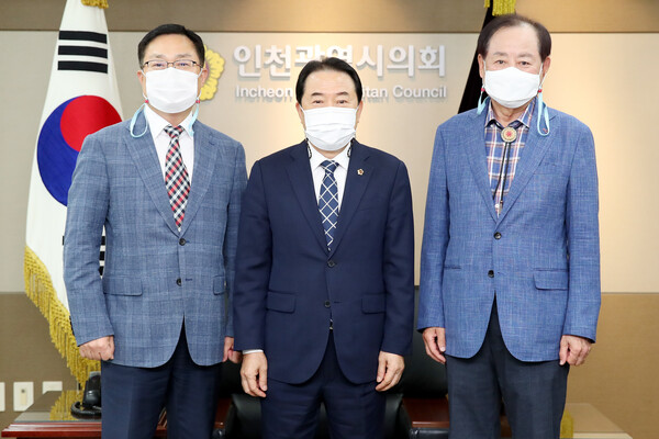 전년성 인천광역시자원봉사센터 이사장 접견 대표 이미지