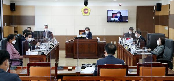 제266회 인천광역시의회 임시회 제1차 기획행정위원회 대표 이미지